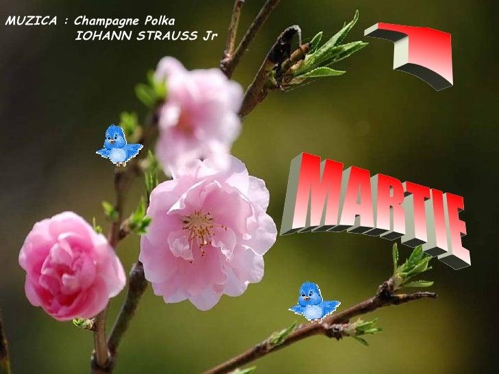1 MARTIE MUZICA : Champagne Polka IOHANN STRAUSS Jr