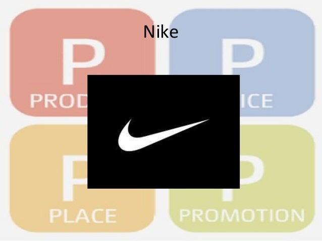 the marketing mix of nike