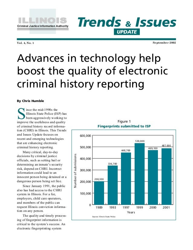 technology and communication in criminal justice Technology affects our everyday life technology also affects the criminal justice field, especially in communication the criminal justice system has different databases thanks to.