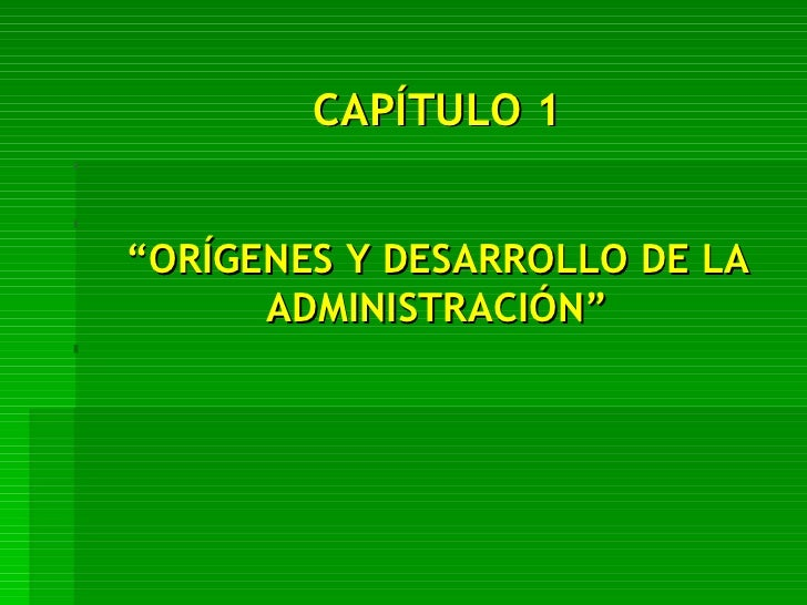 Administracion.