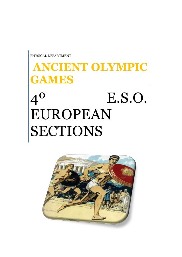 1 ancient olympic games