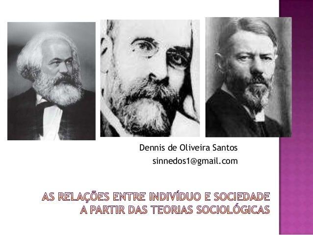 Dennis de Oliveira Santos sinnedos1@gmail.com
