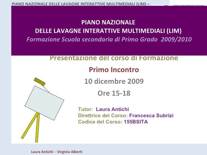 1antichi Corso Lim0910 Incontro1