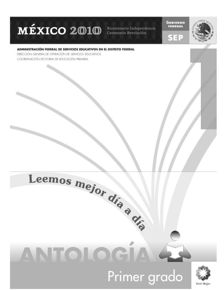 1 antologia primero