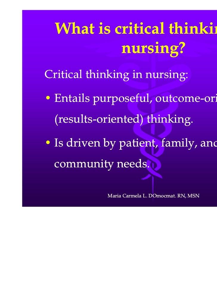 Essay On Critical Thinking