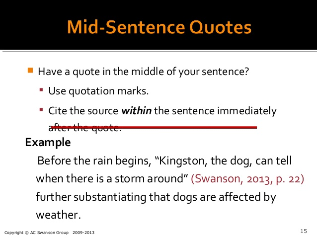 quotation mla format