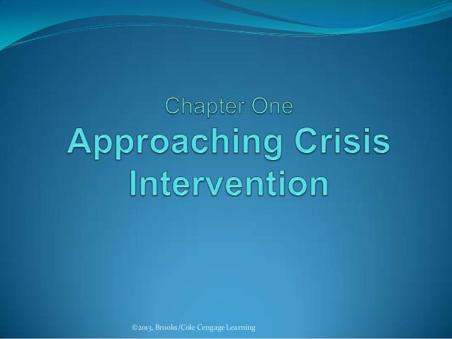 1 approaching crisis intervention