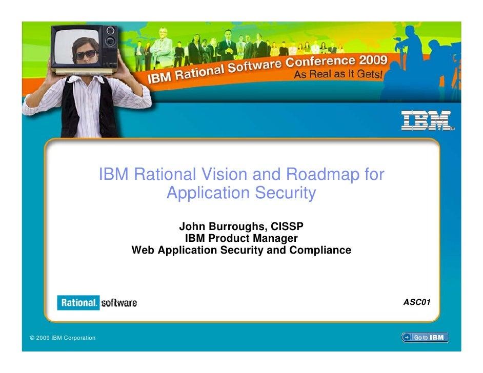 Application security vision - John b
