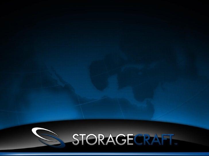 Apresentação Storage Craft