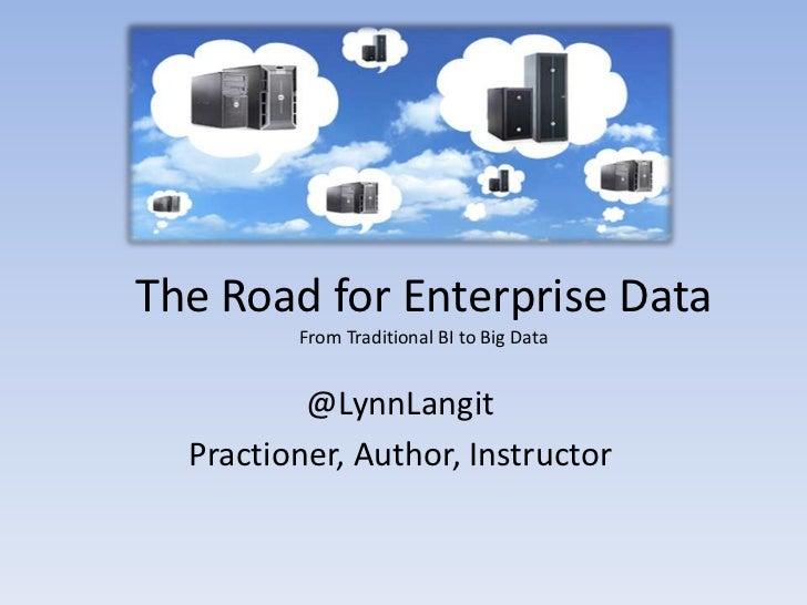 Strata Online_road_to_enterprise_data_2011