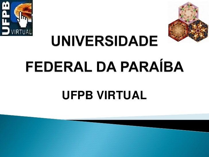 UFPB VIRTUAL
