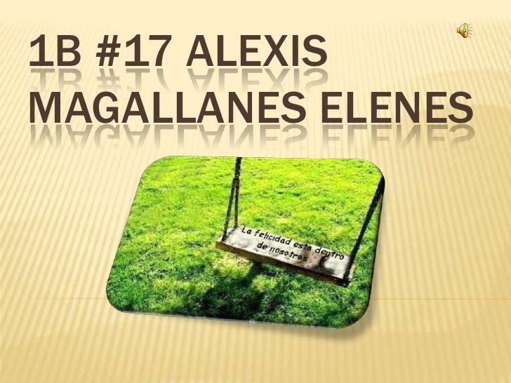 1B #17 Alexis Magallanes Elenes<br />