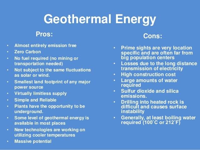 geothermal energy presentation