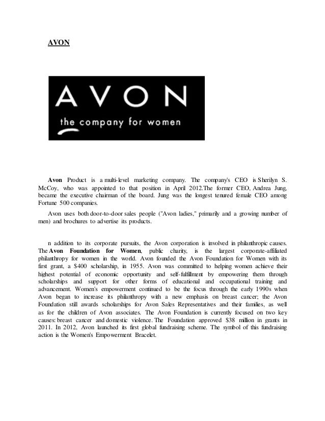 avon products swot analysis Essays - largest database of quality sample essays and research papers on avon swot analysis.