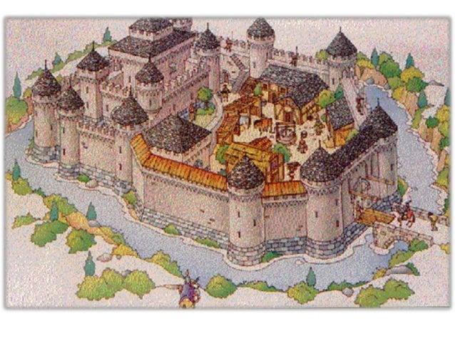 Carlo magno il feudalesimo la curtis e il castello for Piani di casa castello medievale