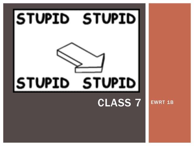 1 b class 7