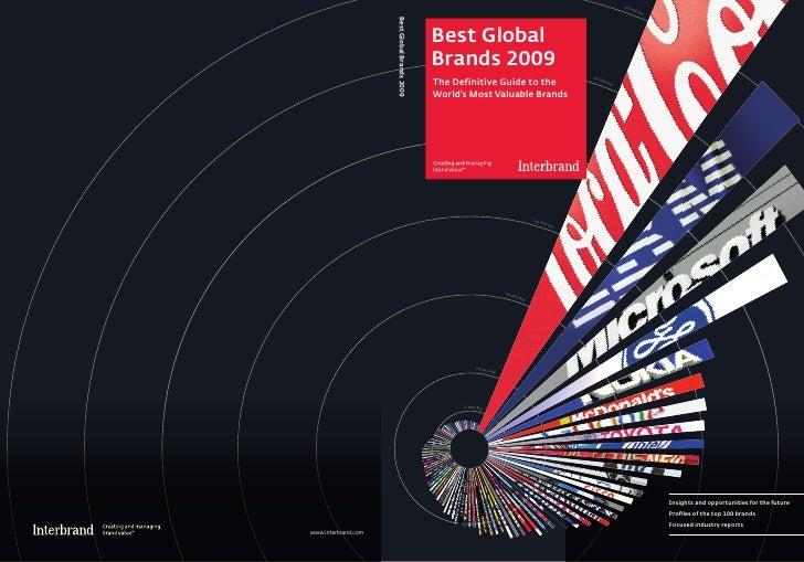 Best Global Brands 2009