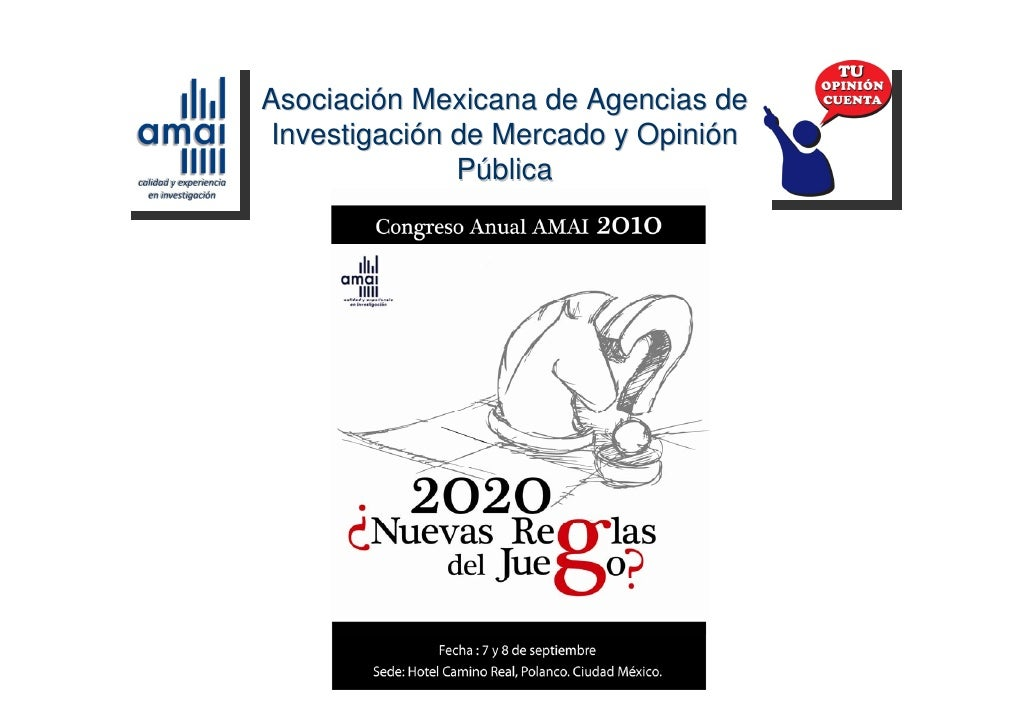 Asociación Mexicana de Agencias de  Investigación de Mercado y Opinión                Pública