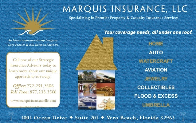 Specializing in Premier Property & Casualty Insurance Services                                                           Y...
