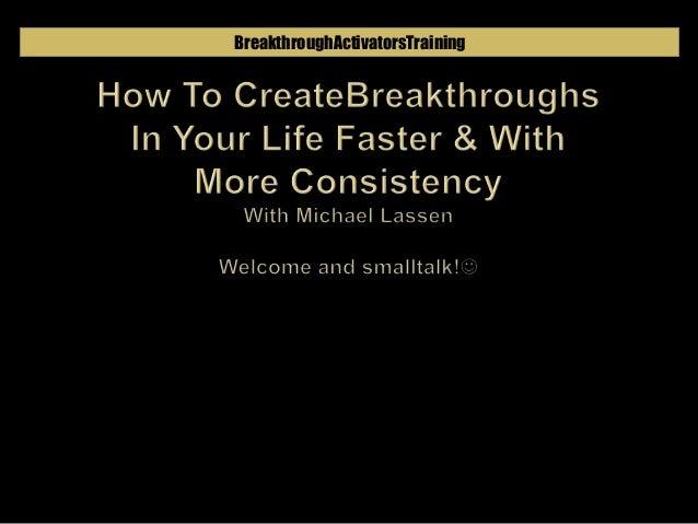 BreakthroughActivatorsTraining