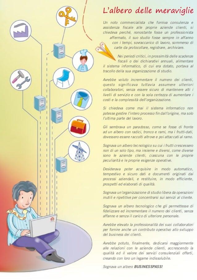 L'albero delle meraviglie Un noto commercialista che forniva consulenza e assistenza fiscale alle proprie aziende clienti,...