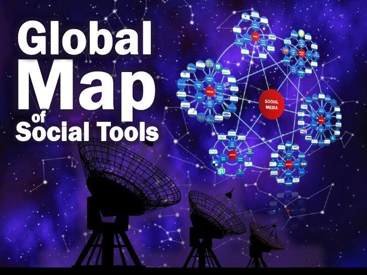 Global map of social tools