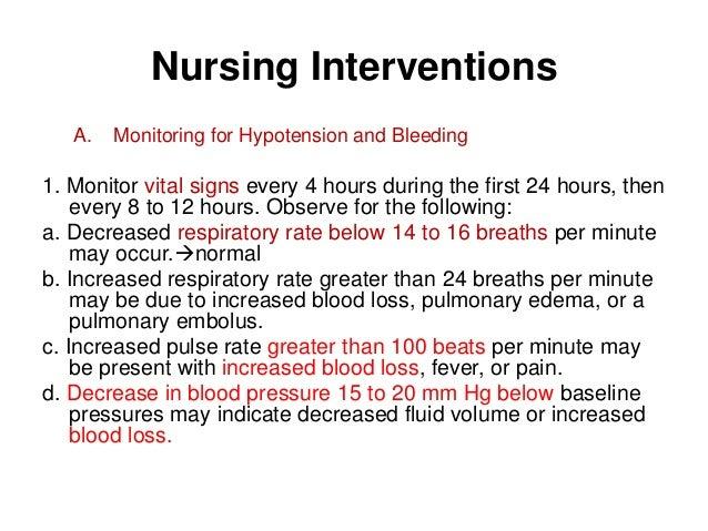 nursing care plan for hypotension pdf