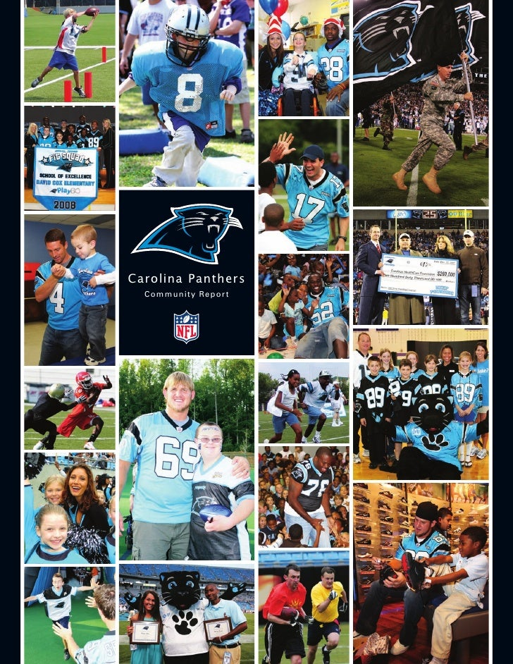 Carolina Panthers   Communit y Repor t
