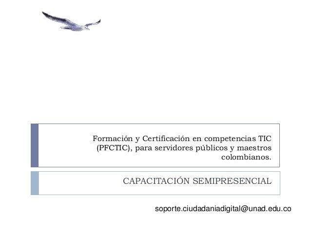 1 certificación digital