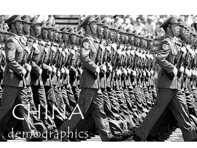 (1) china's demographics and policies