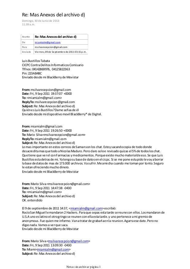 Asunto Re:Mas Anexosdel archivo d) De miamialm@gmail.com Para msilvarecepcion@gmail.com Enviado Viernes, 09 de Septiembre ...