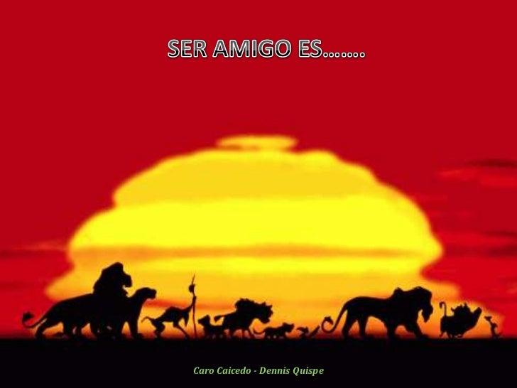 Caro Caicedo - Dennis Quispe