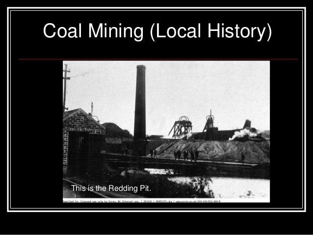What is a coal mine?