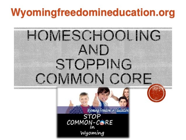 Stopping Common Core and Homescholing