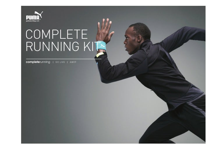 complete running kit completerunning | go live | Aw09     Please do not hand this confidential information to anyone outsi...