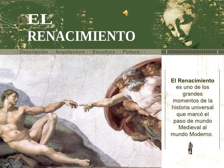 Contexto del Renacimiento (arte)