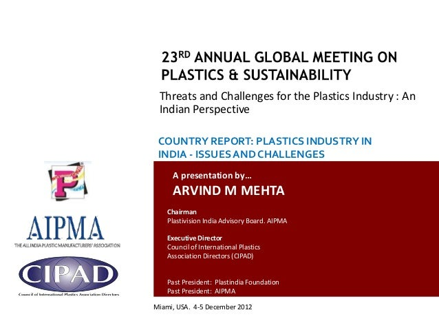 1 country report plastics industry in india issues and challenges