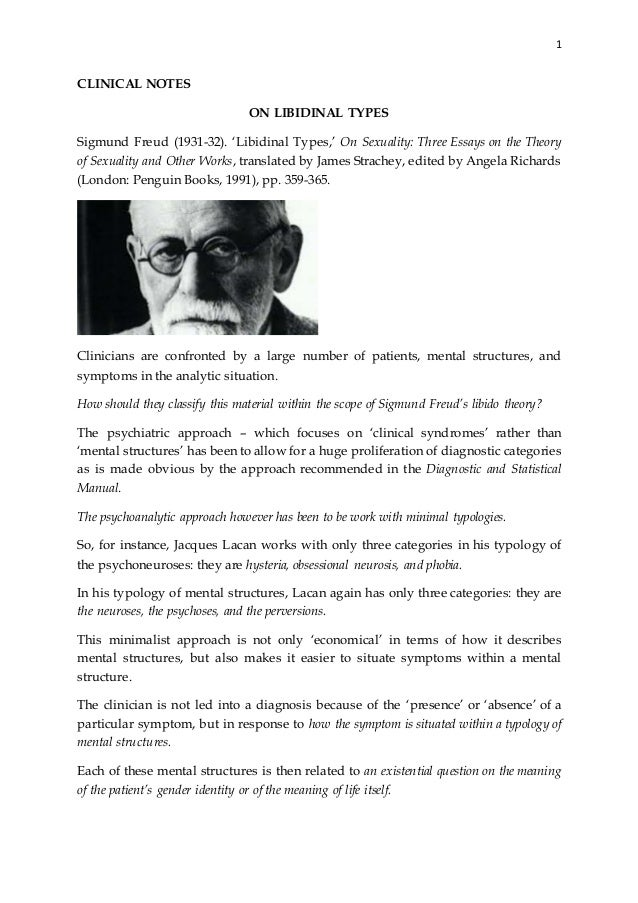 freud three essays on the theory of sexuality full text