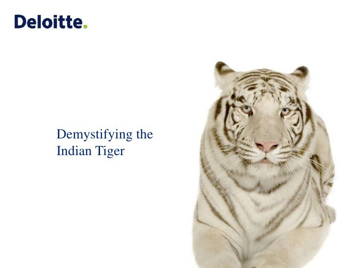 Demystifying the Indian Tiger<br />