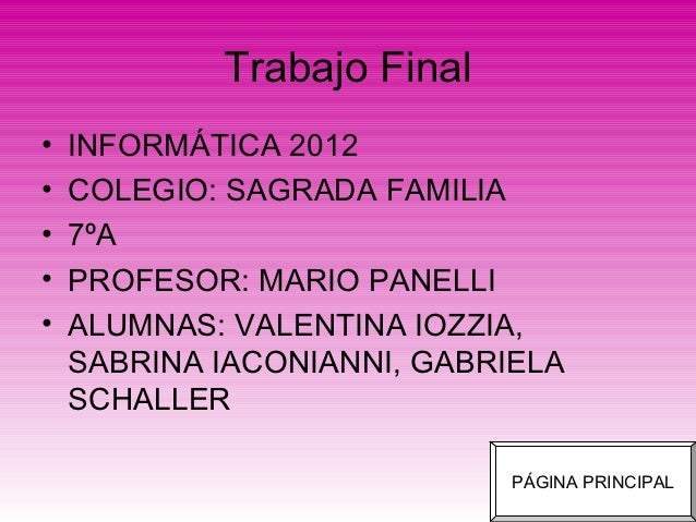 One Direction - Trabajo Final