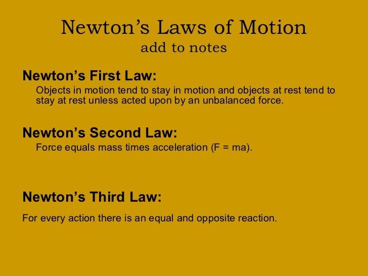 Newton S First Law Kid