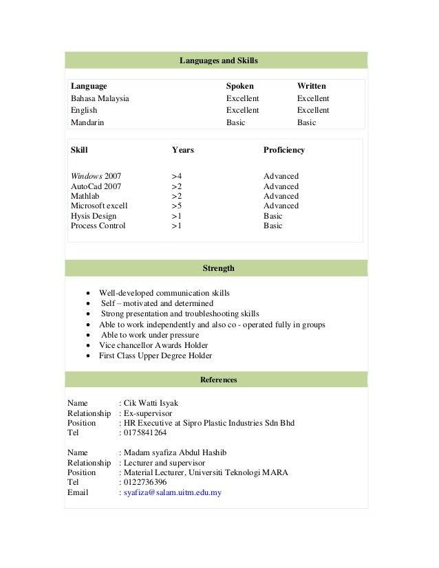resume 03022015