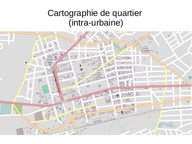 OSM et trois échelles de référence pour la cartographie
