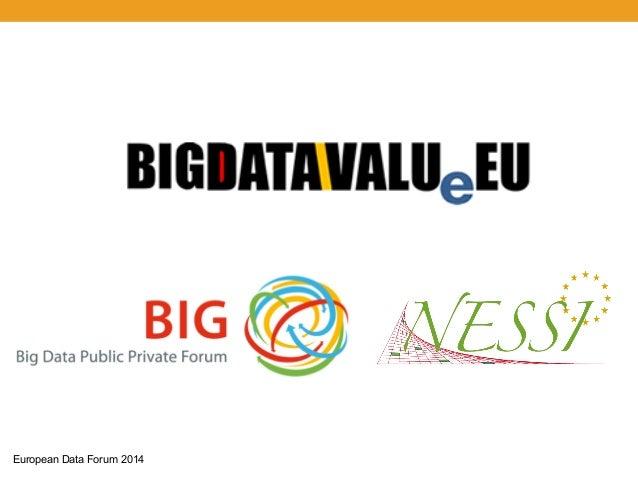 Towards a BIG Data Public Private Partnership