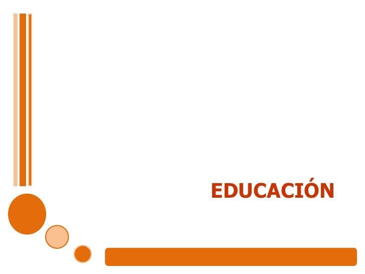 1)Educacion Exposicion