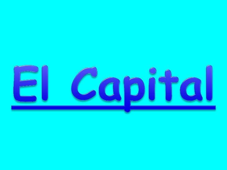 1 El Capital