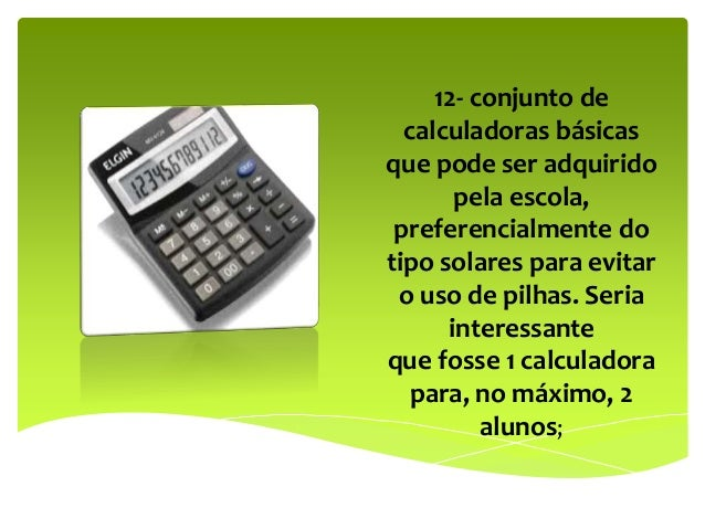 Resultado de imagem para deleite sobre a calculadora envolvendo todas disciplinas para o segundo ano