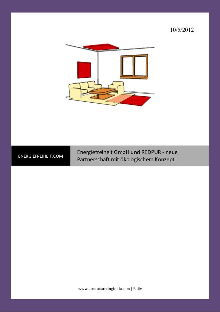 10/5/2012                      Energiefreiheit GmbH und REDPUR - neueENERGIEFREIHEIT.COM                      Partnerschaf...