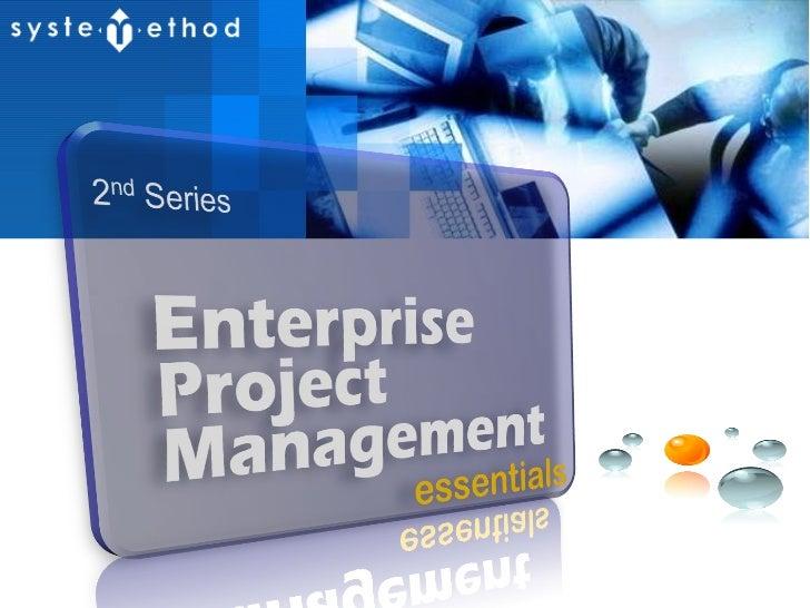 Enterprise Project Management Essential #2