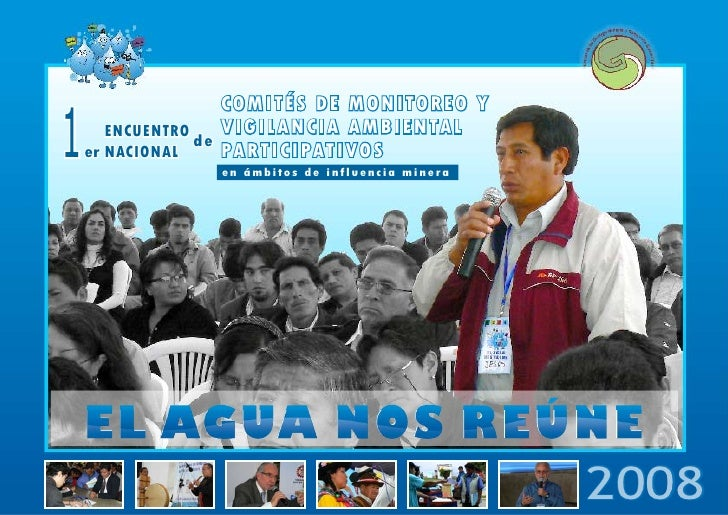1er Encuentro Nacional El Agua Nos Reune Resumen Visual